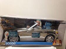 Barbie My Scene Bling Wheel Vehicle Car Slammin' Silver Metallic (Mirror) Rare