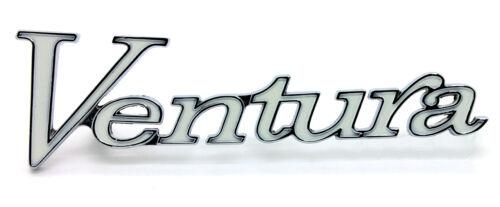 """NEW /""""Ventura/"""" Fender Emblem Script Chrome Trim For PONTIAC VENTURA USA MADE"""