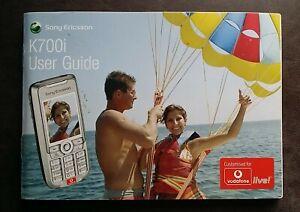 Bedienungsanleitung K700i Sony Ericsson User Guide Handbuch Gebrauchsanleitung