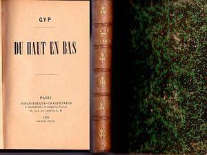1894-GYP-COMTESSE-DE-MARTEL-034-DU-HAUT-EN-BAS-034-RELIE