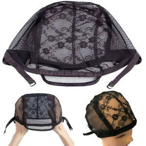 Wig-Cap-Lace-Mesh-Making-Wigs-Hair-Breathable-Weaving-Elastic-Adjustable-Straps