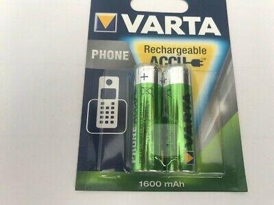 Akkus & Batterien 2er Pack Phone Accus Aa Nimh 1600 Mah Mignon T 399 1,2 V Duftendes Aroma Heimwerker