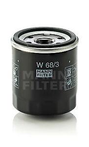 Mann-amp-Hummel-Oil-Filter-W-68-3-BRAND-NEW-GENUINE-5-YEAR-WARRANTY