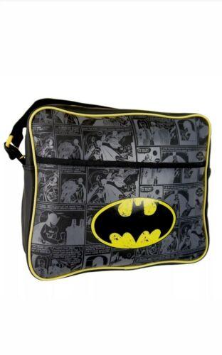 Corriere Spalla Scuola Borsa fumetto stampa DC Batman Logo Kids Messenger