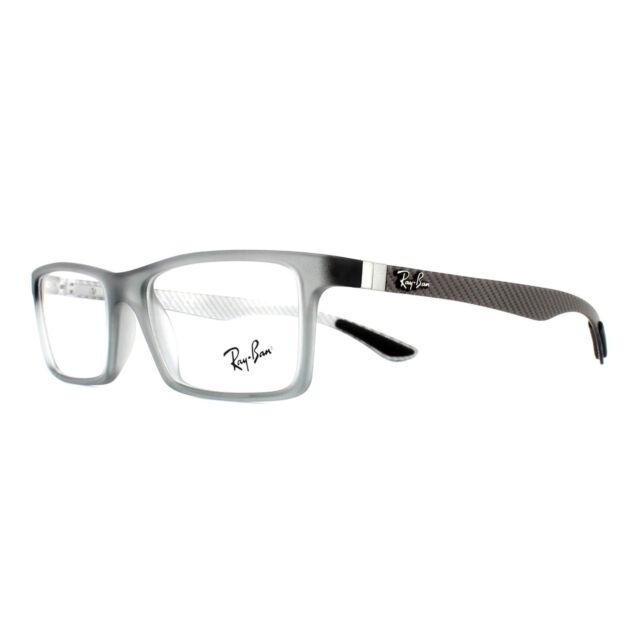 Ray-Ban Rx8901 5244 53mm Demi Gloss Grey Eyeglasses   eBay a8427f9c5d