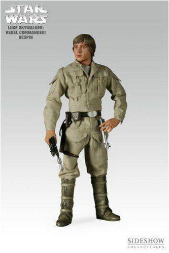 Luke Skywalker Rebel Commander Bespin 12in SIDESHOW COLLECTIBILES New