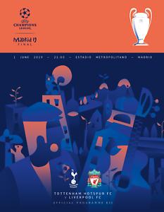 UEFA-CHAMPIONS-LEAGUE-FINAL-2019-Liverpool-v-Tottenham-includes-TWO-LFC-posters