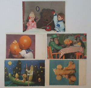 Art-Toys-Postcards-Henry-Rox-RARE