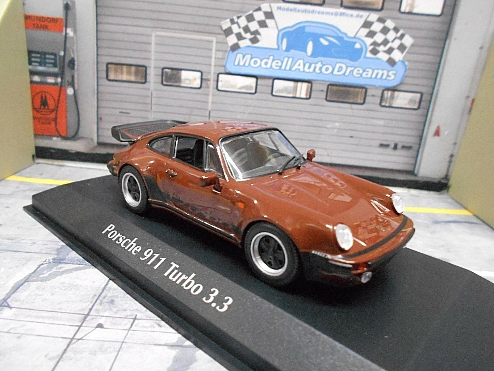 Porsche 911 930 Turbo 3.3 Marron marron 1979 SP maxichamps MINICHAMPS 1 43
