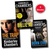 Kimberley Chambers Collection 3 Books Set (The Trap, Born Evil, Billie Jo)