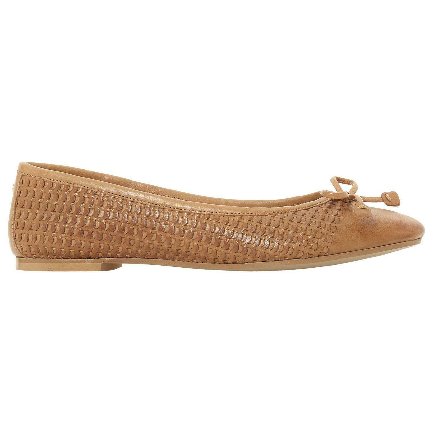 Dune Perforated Upper Bow Detail Ballet Pump UK 3 EUR 36 REF 645
