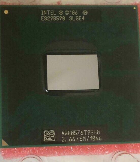 1066 Notebook processor 6 m Intel core 2 duo T9400 SLGE5//SLB46   2.53 Ghz