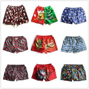 1020st satijnen boxershorts heren nachtkleding ontwerp 5 zijde ondergoed 2xl willekeurig S q354AjRL