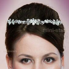 Hochzeit Funkelnd Schmetterling Blume Stirnband Kristall Diadem T1402