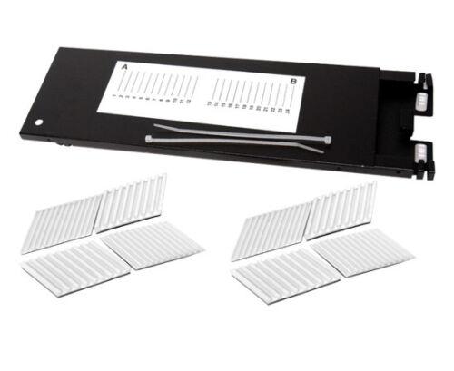 Fiber Optic Splice Tray 24 Fusion Splices Multilink 70506K Aluminum – 3996