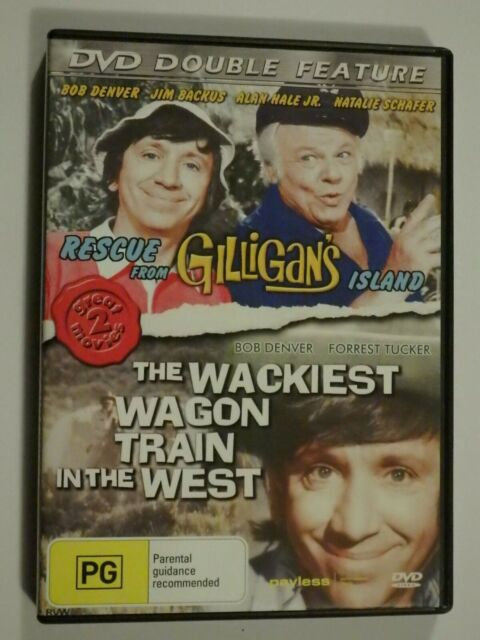 Rescue From Gilligan's Island + The Wackiest Wagon Train In The West DVD GOOD