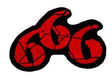 666 - Six Six Six - Patch Aufnäher - Black Metal