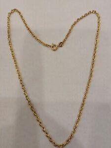 Halskette/Halsnah 40CM A Kettchen, aus Silber 925 Golden, Neu mit Garantie