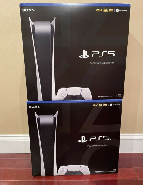 Sony PlayStation 5 DigitalEdition Console PS5 BRAND NEW - FAST SHIPPING