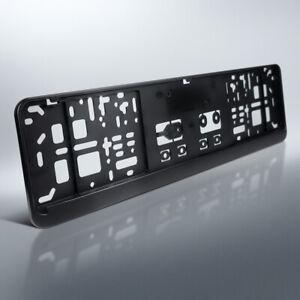 1 kennzeichenhalter 460 x 110 mm f r kurze kennzeichen schwarz 46 x 11 ebay. Black Bedroom Furniture Sets. Home Design Ideas