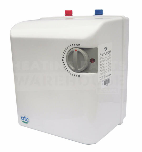 ATC 5l 5 Litre 2kw Unvented Under Sink Water Heater 2 Sinks | eBay