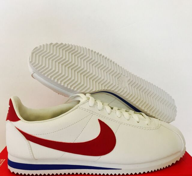 hot sale online 10ff1 46959 Nike Classic Cortez Leather Forrest Gump Men Lifestyle Casual SNEAKERS  White 7.5