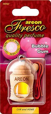 3x Originale Areon Fresco Profumo Per Auto Albero Profumato Deodoranti Bubblegum Ultimi Design Diversificati
