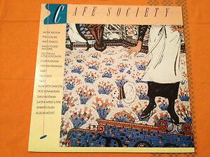 CAFE-SOCIETY-18-Original-Hits-by-18-Original-Artists-1988-Aus-Vinyl-Lp-NMINT