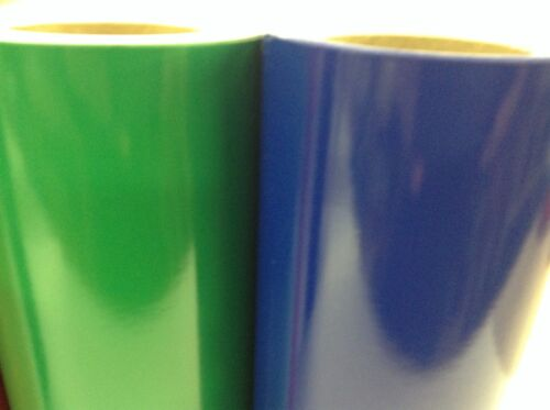 """5 rolls// 10 ft ea hobby //   Crafter colors by precision62 12/""""   Vinyl"""