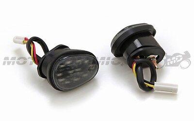 2007-2008 Yamaha YZF R1 YZF-R1 Flush Mount LED Running + Turn Signal Lights