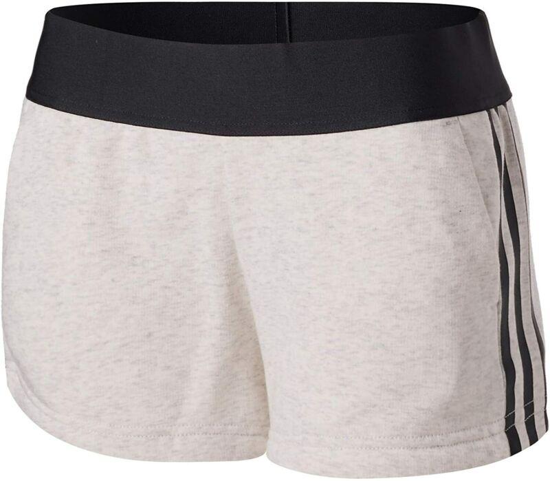 Constructive Adidas Women's Sport Id Shorts, White Melange For Improving Blood Circulation