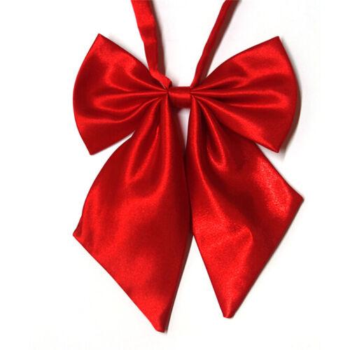 Women Lady Girls Butterfly Bowtie Silk Bow Ties Formal Bow Tie New Fashion WU