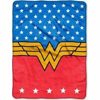 Wonder Woman Fleece Blanket Princess Of Justice Throw 46 X 60