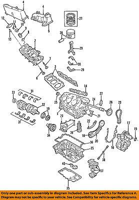 [SCHEMATICS_4CA]  FORD OEM-Engine Crankshaft Crank Seal F5TZ6701A | eBay | Ford 4 0 Engine Gasket Diagram |  | eBay