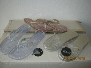 new concept 8dca4 c8060 Details zu Badeschuhe Konvolut 12 Paar Woz Sandalen Schuhe Damenschuhe 36  -41 Mädchenschuhe