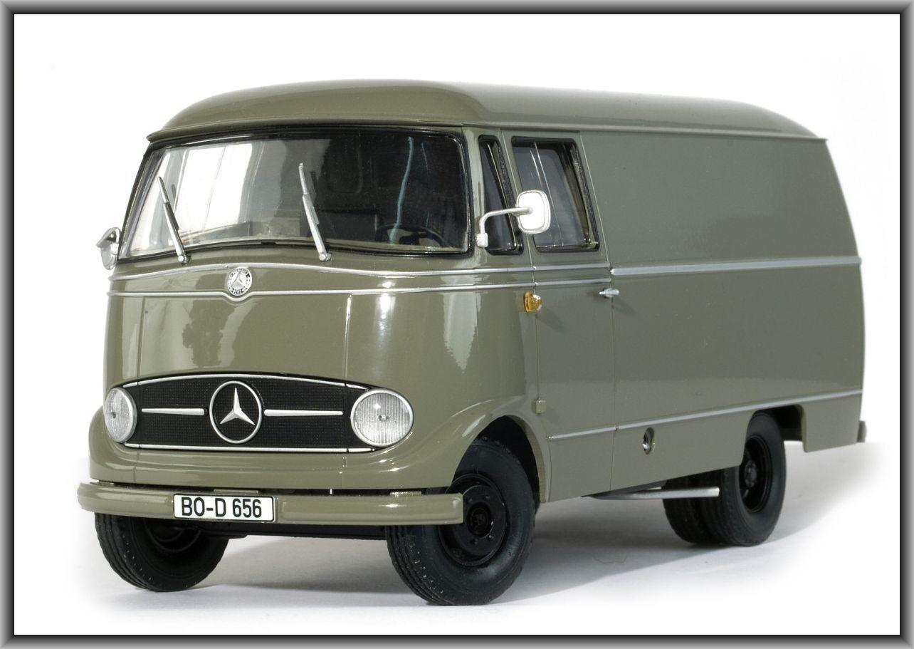 Dingler Dingler Dingler MB 319 Kastenwagen grey im Maßstab 1 32 (200203) ade877