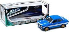 GREENLIGHT 12800 BA 1974 FORD ESCORT Mk1 RS2000 model FAST & FURIOUS 6 2013 1:18