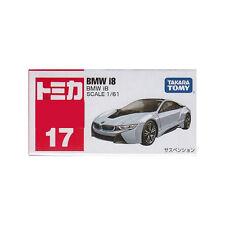 Takara Tomy Tomica #17 BMW i8 1/61 Diecast Toy Car JAPAN Free Shipping