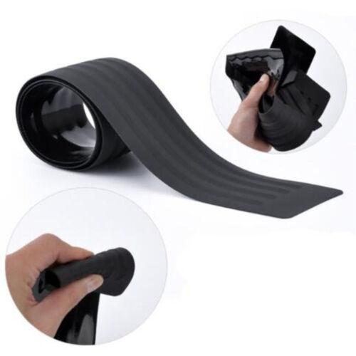 90cm Rear Bumper Body Scratch Guard Protector Rubber Trim Cover Strip Plate Pad