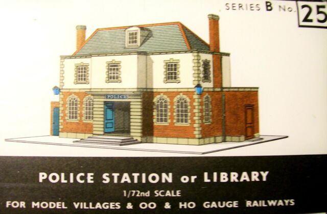 SUPERQUICK POLICE STATION or PUBLIC LIBRARY   B25     KIT