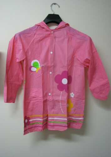 12 8 Childrens Kids Boys Girls Raincoat Outerwear Age: 6-12 Years Size: 6 10