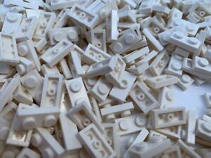 LEGO-3794-15573-3023-50-Pieces-Per-Order-1x2-White-Used-Plates-amp-Knob
