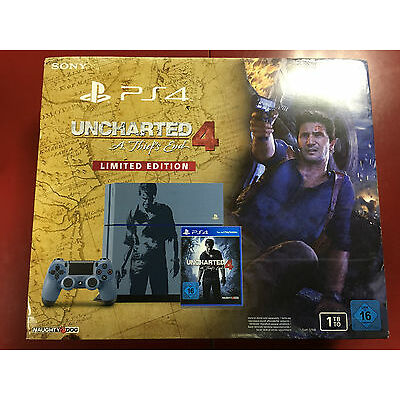 Playstation 4 1TB - Limited Edition Uncharted 4 A Thief`s End SEALED