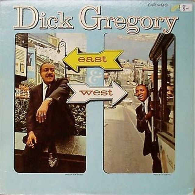 DICK GREGORY 'EAST AND WEST' US IMPORT LP