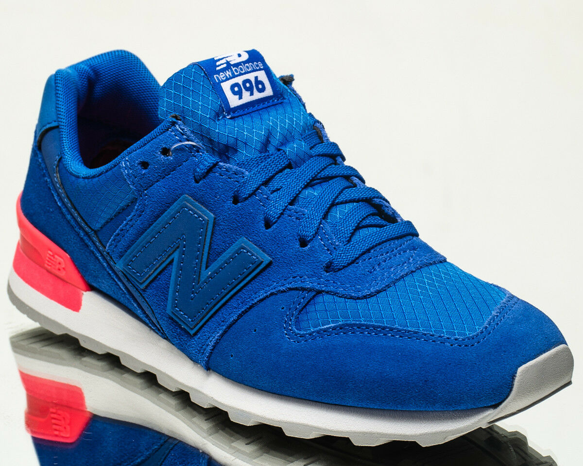 New Balance WMNS 996 NB women lifestyle shoes NEW blue white red WR996-SL