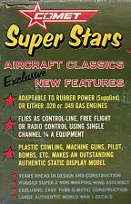 COMET SUPER STARS AIRPLANE PLANS COLLECTION ON 8GB USB STICK!!!!
