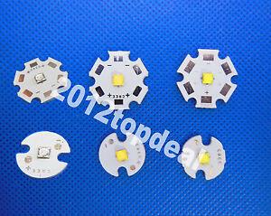 Royal Blue 20x 1W 5W Cree XT-E XTE White// Warm White Pure White Led Light