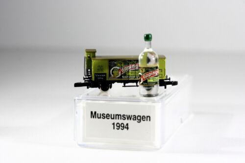 Museumswagen 1994 Göppinger Mineralwasser   OVP Mini Club Märklin  Spur Z