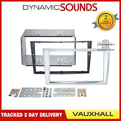 CT23VX36 Piano Black Double Din Fascia Panel Kit For Vauxhall Corsa 2006-2014
