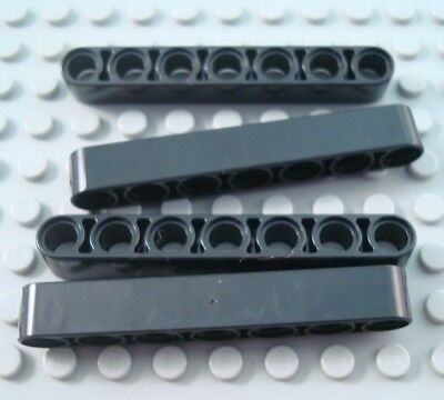New LEGO Lot of 2 Dark Bluish Gray 1x11 Thick Technic Mindstorms Liftarms